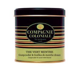Boite Luxe Thé Vert Menthe - 120 gr - Compagnie Coloniale