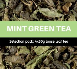 Mint Green Tea selection pack (4 x 50g) - Exclusive to MaxiCoffee