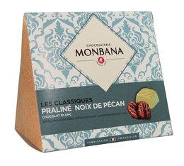 Les Classiques, chocolat blanc et noix de pécan - Monbana