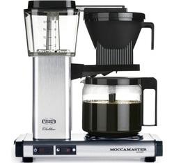 Cafetière filtre Moccamaster KBG741 Aluminium brossé 1.25L + offre cadeaux