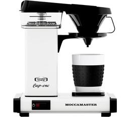 Cafetière filtre Moccamaster Cup One Crème + offre cadeaux