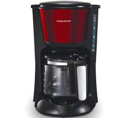 Cafetière filtre Morphy Richards Accents Glass M162752 rouge + offre cadeaux