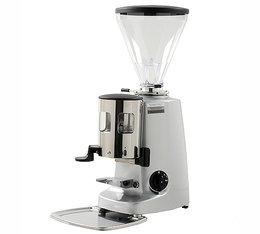 Moulin à café Mazzer Super Jolly argent avec doseur / arrêt  manuel