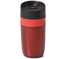 OXO double-wall travel mug in red - 30cl