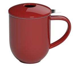 Mug avec infuseur et couvercle 300ml Rouge - Loveramics