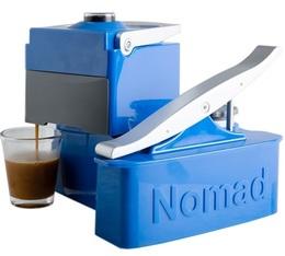 Nomad Espresso portable coffee maker in blue by Uniterra