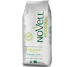 Café en grains Novell Oragnic Mocca - 100% Arabica - 1kg