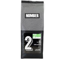 NUMBER N°2 'Red Coffee' Organic coffee beans - 100% Arabica - 250g
