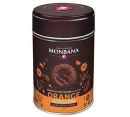 Chocolat en poudre aromatisé Orange 250 g - Monbana