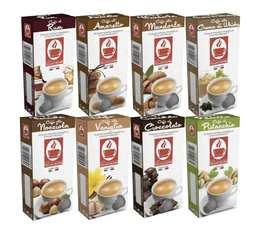 Pack découverte capsules compatibles Nespresso Aromatisées - Caffe Bonini x 80