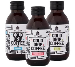 Selection pack of ready-to-drink cold brew coffee - 3 x 125ml - Batavia Dutch Coffee