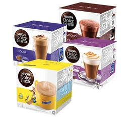 Introductory offer - Nescafe Dolce Gusto Hot Chocolate capsule - 4 varieties