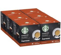 STARBUCKS Colombia Espresso coffee pods for Dolce Gusto x 72