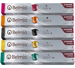 Belmio Discovery Pack - 5 x 10 capsules for Nespresso
