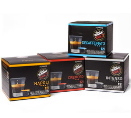 Caffè Vergnano Discovery pack: 4x12 coffee capsules for Dolce Gusto