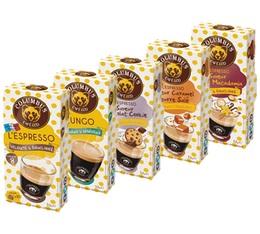 Pack découverte Columbus Café & Co - 5 paquets de cafés