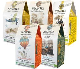 Pack découverte capsules compatibles Nespresso® biodégradable - TerraMoka