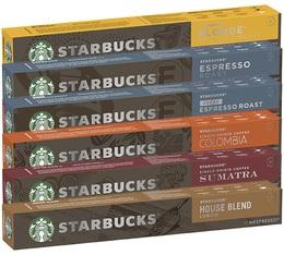 Pack découverte capsules compatibles Nespresso® - Starbucks