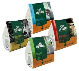 Pack découverte 72 dosettes souples - Café Liegois