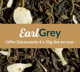 Pack découverte Thé Earl Grey (4 x 50 g) - Exclusif MaxiCoffee