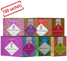 Maison Taillefer selection pack x 100 tea bags