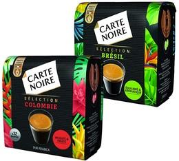 Pack découverte Sélection Origine dosettes compatibles Senseo® x 64 - Carte Noire