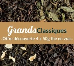 Pack découverte Thé Grands Classiques (4 x 50 g) - Exclusif MaxiCoffee