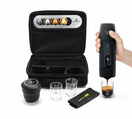 Kit de voyage Cafflano Go-Brew + Moulin Hario Mini Slim Plus + Filtres Kalita