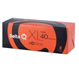 PACK XL - Capsules DeltaQ aQtivus Delta café x 40