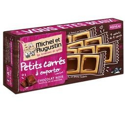 4 sachets de Petits carrés Chocolat noir pointe de sel - Michel et Augustin