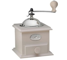 Peugeot Cottage manual coffee grinder in Ivory colour