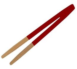 Pince à toast en bois rouge - Pebbly Natural