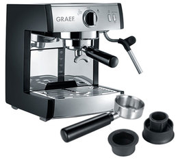 Machine expresso Graef Pivalla + adaptateur Nespresso
