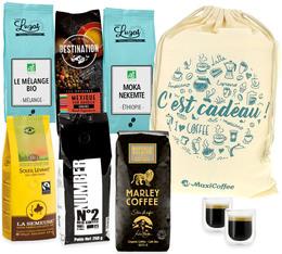 L'amour est dans le Bio : Pack Cadeau Café en Grain Bio