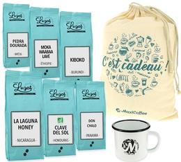 Question pour un Grand-Cru - Pack cadeau café en grains