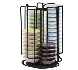 Porte capsules Noir pour 48 capsules Tassimo - Melitta