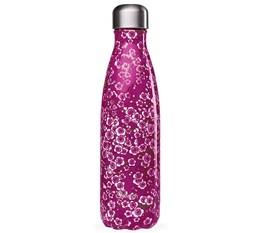 QWETCH insulated bottle Pink Flowers - 500ml