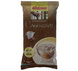 Ristora gluten-free vanilla cappuccino instant drink - 1kg