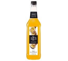 Sirop 1883 Routin Fruit de la passion - Bouteille plastique - 1L
