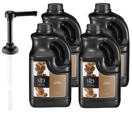 Sauce 1883 Routin Caramel - 4 x 1,89 L + Pompe doseuse