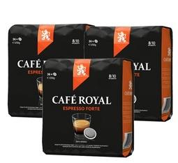 Pack Dosettes souples Ristretto 3 x 36 - Café Royal