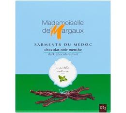 Sarments du Médoc Chocolat Noir/Menthe 52% 125g - Mademoiselle de Margaux