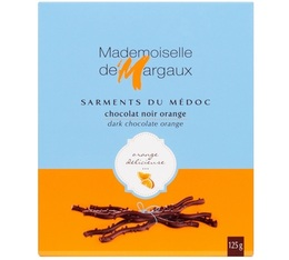 Sarments du Médoc Chocolat Noir/Orange 52% 125g - Mademoiselle de Margaux