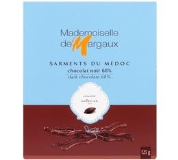 Sarments du Médoc Chocolat Noir 68% 125g - Mademoiselle de Margaux