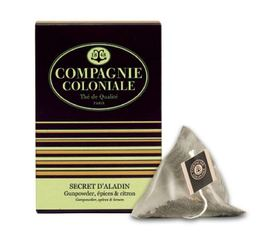 Thé vert Secret d'Aladin - 25 Berlingo® - Compagnie Coloniale