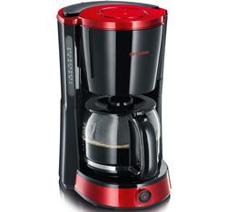 Cafetière filtre Severin Select KA 4492 rouge et noire + offre cadeaux
