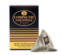 Thé noir Secret de Shéhérazade - 25 Berlingo® - Compagnie Coloniale