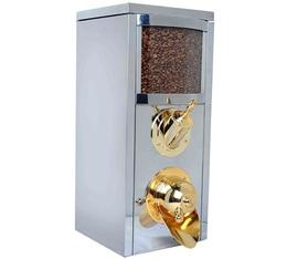 Silo à café professionnel KBN102 en inox (nouveau design) - 5 kg - Kuban Coffee