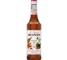 Sirop Monin - Pumpkin Spice (Citrouille Epicée) - 70cl