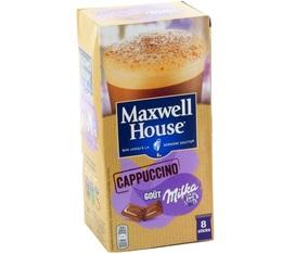 Café Gourmand Maxwell House Cappuccino Milka 8 sticks